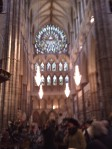 Inside the Abbey - very poor picture quality